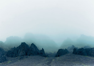 Axel Hütte, Island, Fog, 2002, C-Print, 157 x 187 cm, © Axel Hütte