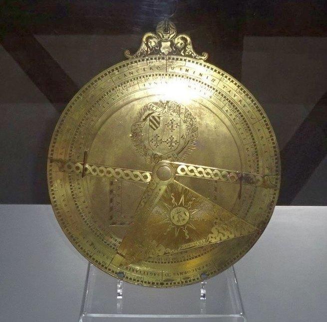 Astrolabium, 1550; Messing, HM Bamberg, Inv. Nr. 12/93