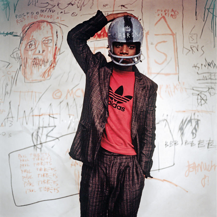 Edo Bertoglio. Jean-Michel Basquiat on the set of Downtown 81, 1980-1981, © New York Beat Film LLC. by permission of the estate of Jean-Michel Basquiat