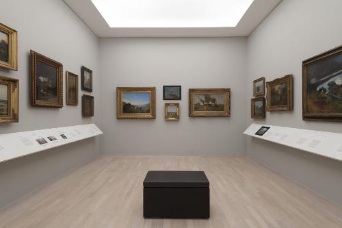 Ausstellungsansicht,  Städtische Galerie im Lenbachhaus und Kunstbau, München