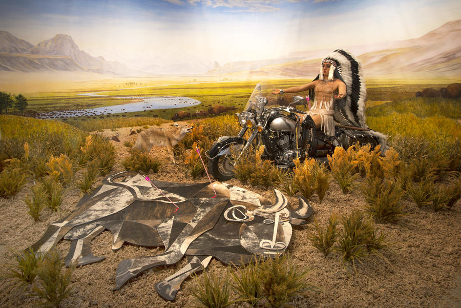 Kent Monkman, Bête Noire, 2014, Sculptural installation (Mixed media), Image courtesy of the artist
