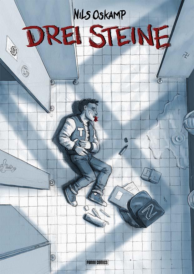 "Nils Oskamp: ""Drei Steine"", Cover"