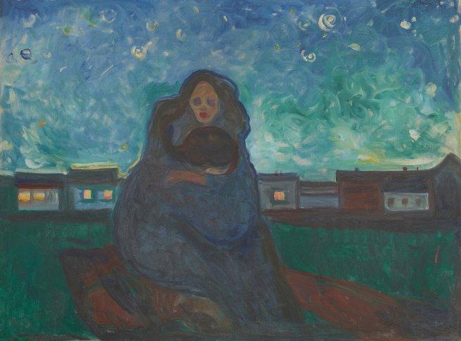 Edvard Munch, Under the Stars, 1900-05, Öl auf Leinwand, 90 x 120 cm, Munchmuseet, Oslo  Foto:  © Kunstsammlung NRW  Auflösung: 3543px*2625px