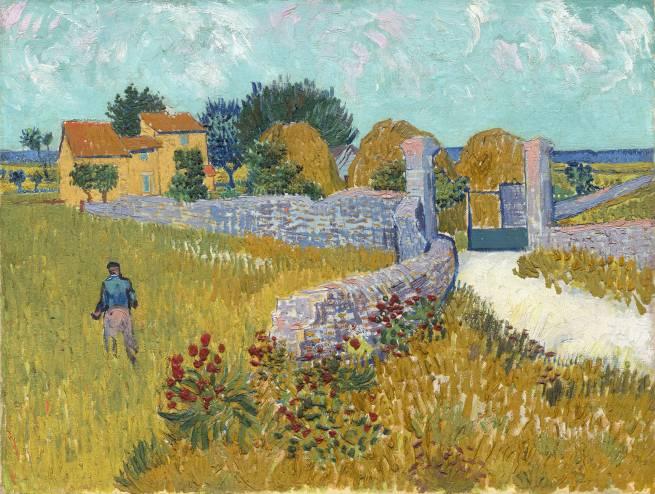Vincent van Gogh (1853–1890) Bauernhaus in der Provence, 1888 Öl auf Leinwand, 46,1 x 60,9 cm National Gallery of Art, Washington D.C. © National Gallery of Art, Washington, Ailsa Mellon Bruce Collection