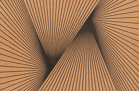 Karl Heinz Adler, Serielle Lineaturen (Tafel 1), 1989, Zeichnung, Graphit auf Holzfaserplatte, 99 x 69 cm, © Galerie EIGEN + ART, Leipzig/Berlin, Foto: Uwe Walther
