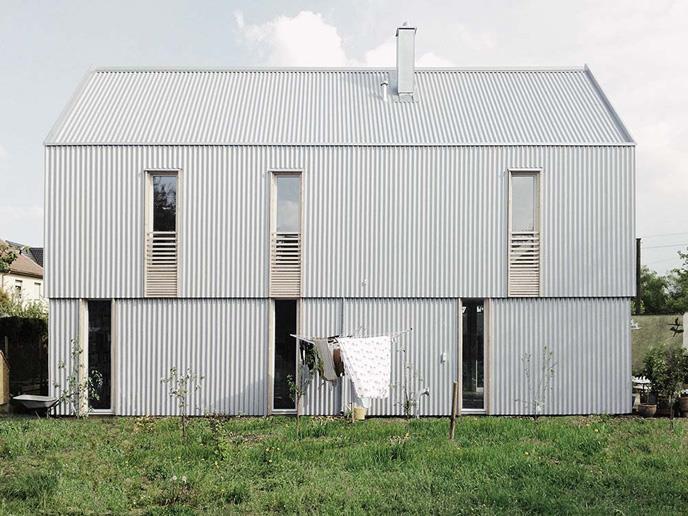 werk A Architektur, Berlin \ Guntram Jankowski, Neue deutsche Welle, Olching \ Preisträger HÄUSER DES JAHRES 2016 \\ © Foto: Bernd Müller, Olching