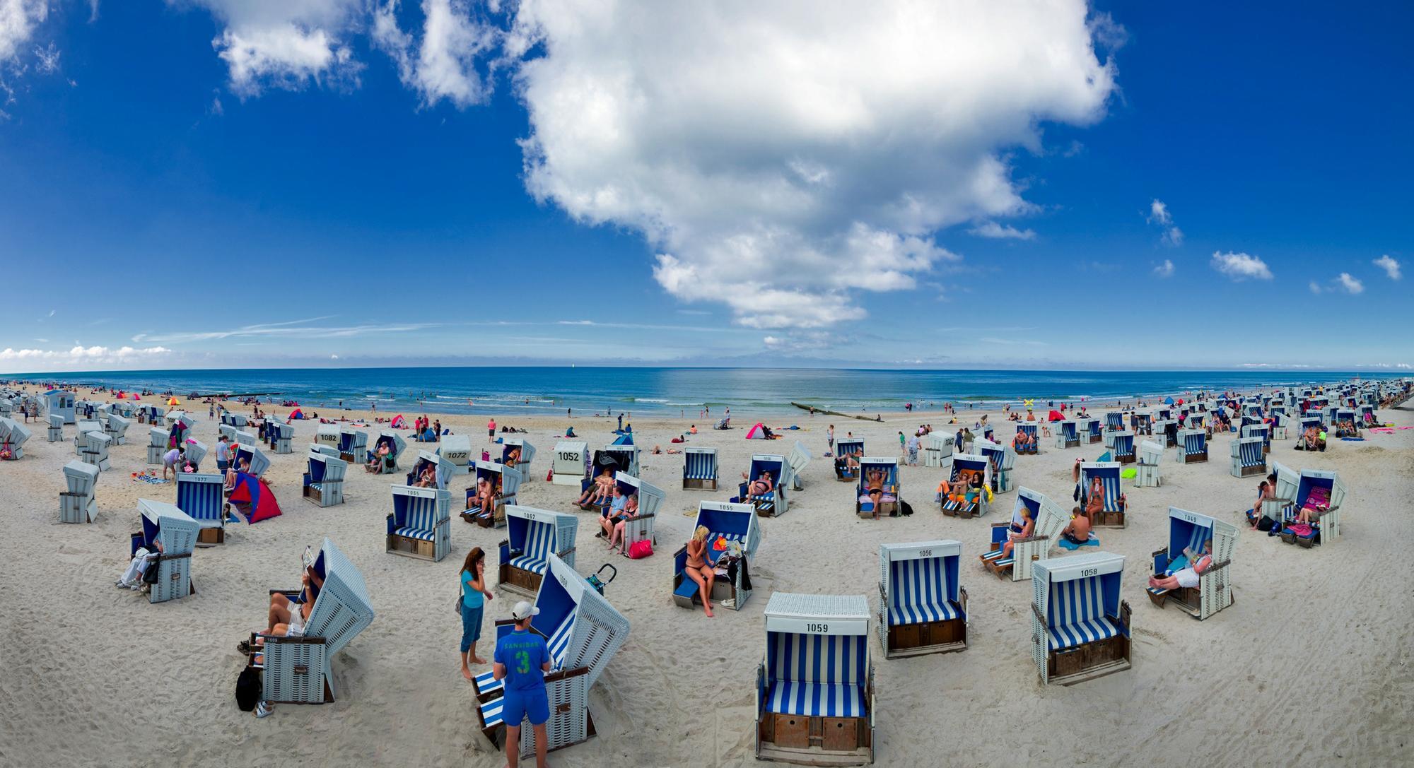 Strand auf Sylt, Foto: Hans Jessel