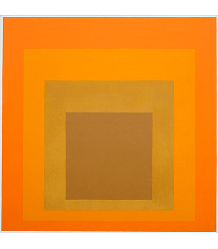 Josef Albers, Homage to the Square, 1964, Josef Albers Museum Quadrat Bottrop, © 2017 The Josef and Anni Albers Foundation / VG Bild-Kunst