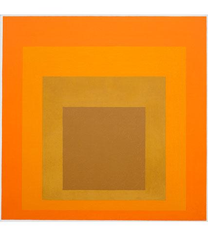 Josef Albers, Homage to the Square, 1964, Josef Albers Museum Quadrat Bottrop, © 2017 The Josef and Anni Albers Foundation / VG Bild-Kunst