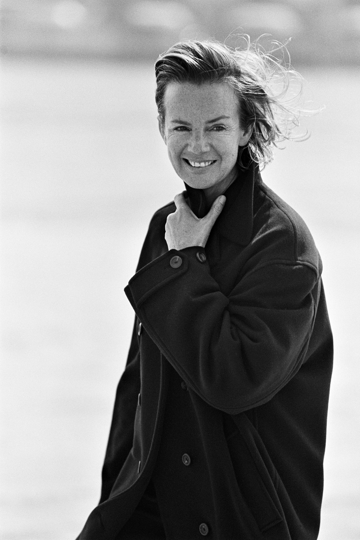 Photo: Peter Lindbergh, Marie Claire Germany, 1991