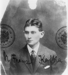 Passfoto, Kafka etwa 32 Jahre alt, 1915/16 © Archiv Klaus Wagenbach