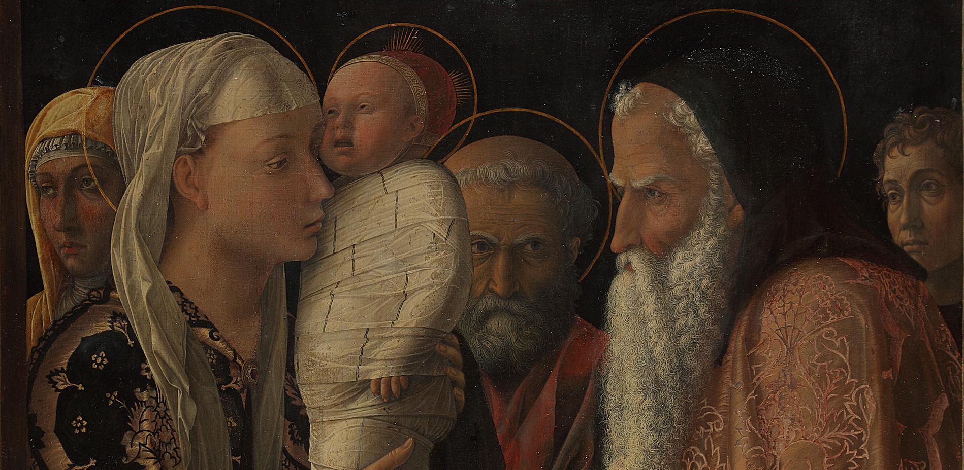 Andrea Mantegna: Darbringung im Tempel © Gemäldegalerie, Staatliche Museen zu Berlin / Christoph Schmidt