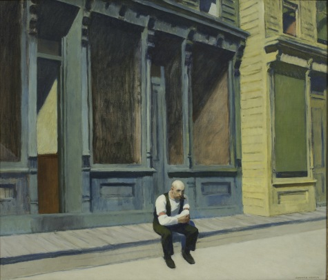 Edward Hopper: Sonntag, 1926, Phillips Collection, Washington D.C.