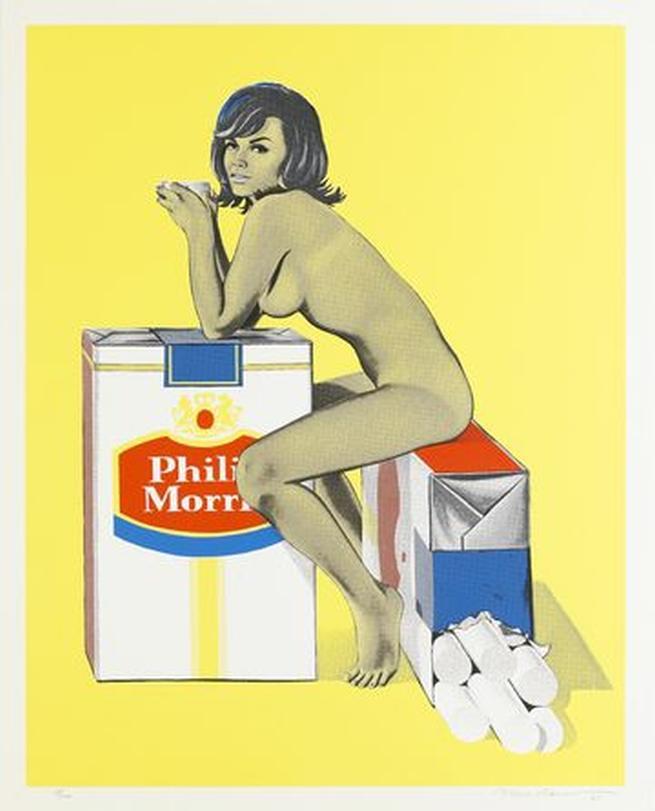 Mel Ramos, Tobacco Rhoda, 1965
