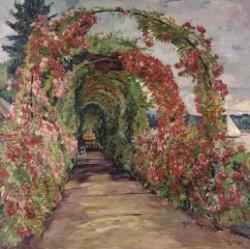 Philipp Franck, Wannseegarten, 1919  © Privatbesitz, Foto: Galerie Mutter      Fourage