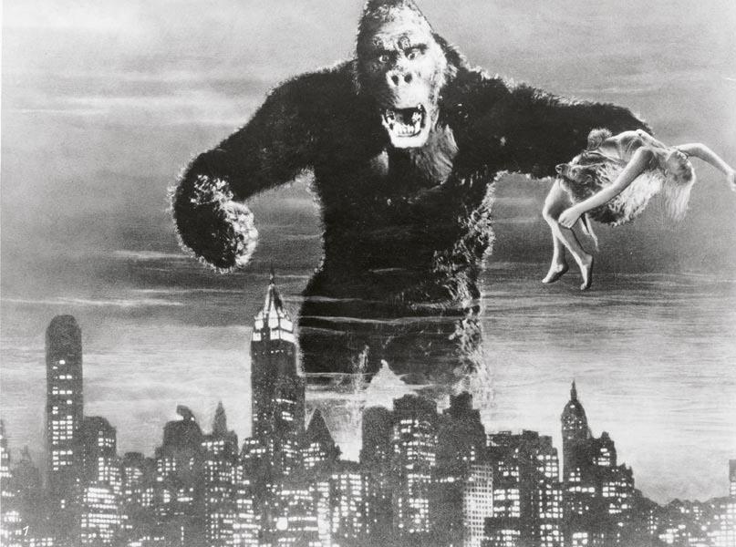 Merian C. Cooper & Ernest B. Schoedsack, King Kong und die weisse Frau, 1933, Filmstill, © Foto: Beta Film / Deutsches Filminstitut, Frankfurt-KINEOS Sammlung