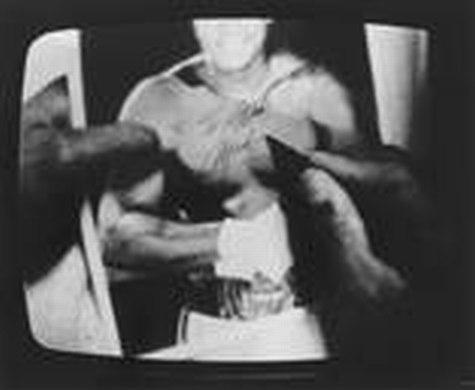 Timm Rautert, Muhammed Ali, 6 Schwarz-Weiss-Fotografien, 1973. Kupferstich-Kabinett, Copyright: SKD, Foto: Herbert Boswank