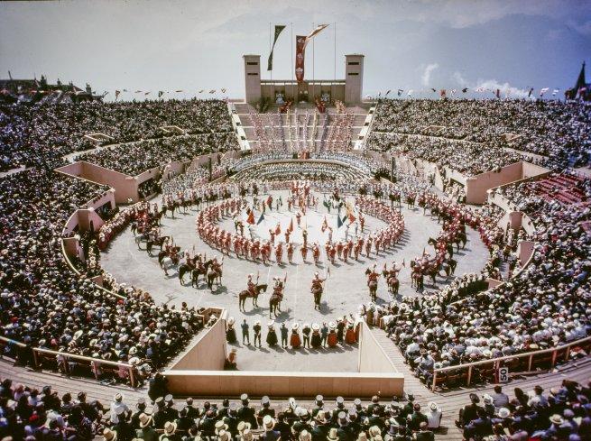 La Fete des Vignerons 1955, Photo: Archives de la Confrérie des Vignerons, Images Télécharger