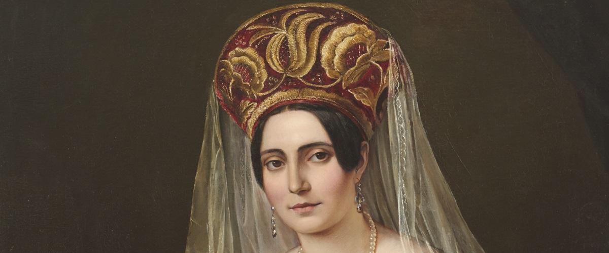 Therese von Bacheracht, unbekannter Künstler, um 1840, Foto: SHMH/Elke Schneider