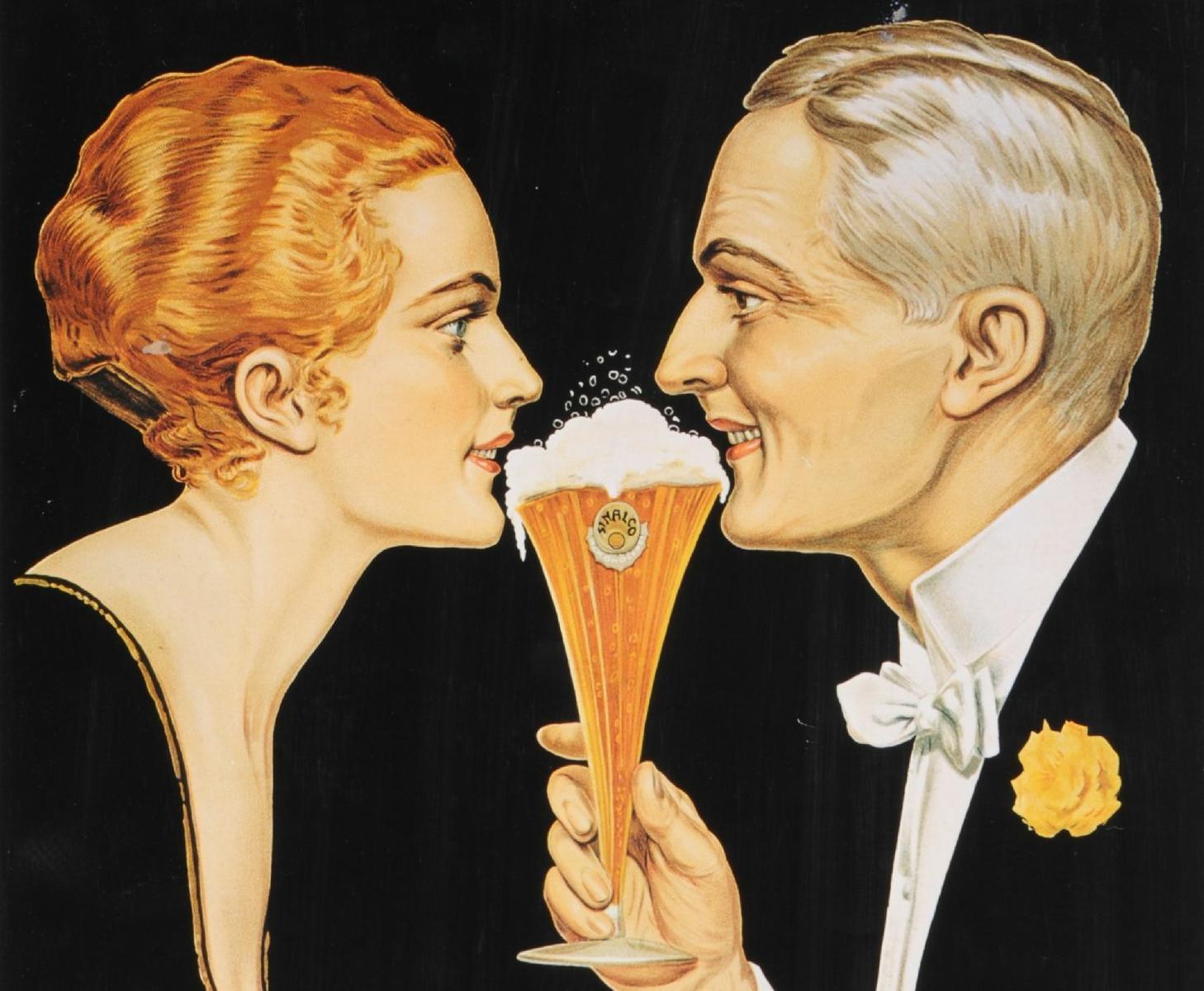 Werbebild der Getränkemarke Sinalco