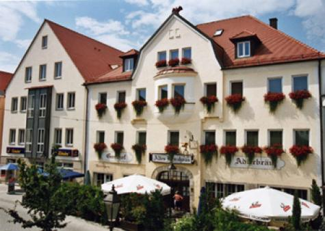 EXTERIOR Gasthof Hotel Adlerbräu, Gunzenhausen