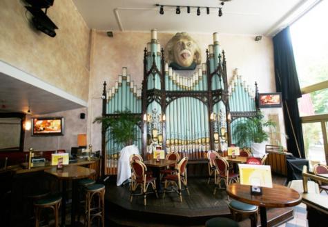INTERIOR Restaurant Alberts, Berlin