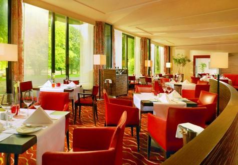 INTERIOR Innenansicht, Restaurant am Park, Essen