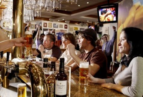 INTERIOR Champions - The American Sports Bar im Marriott Hotel Leipzig, Leipzig