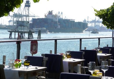 EXTERIOR Restaurant Au Quai, Hamburg