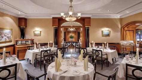 INTERIOR Restaurant im Hotel Atlantic