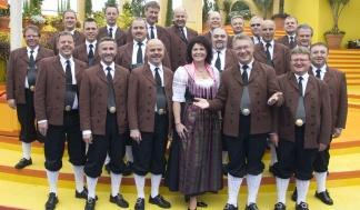 Ernst Hutter und die Egerländer Musikanten (Foto: Frank Stiller)