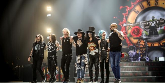 Guns N Roses (Foto: Live Nation)