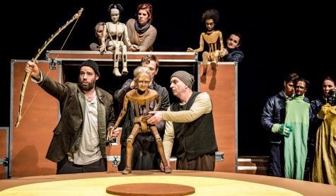 Die Heimkehr des Odysseus, Theater Erfurt, Foto: Lutz Edelhoff