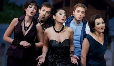 Oper Die Zauberflöte, Foto: Ludwig Olah